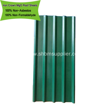 Anti-aging Fiber Glass Mesh Reinforced MgO Roof Sheets