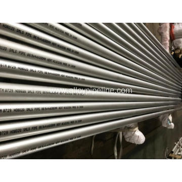 Nickel Alloy Seamless Pipe ASTM B729 UNS N08020