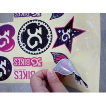 Waterproof UV Vinyl Die Cut Logo Custom Stickers