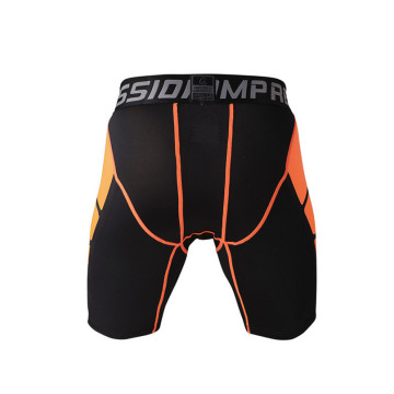 Cool slimming body black sports tight shorts for men