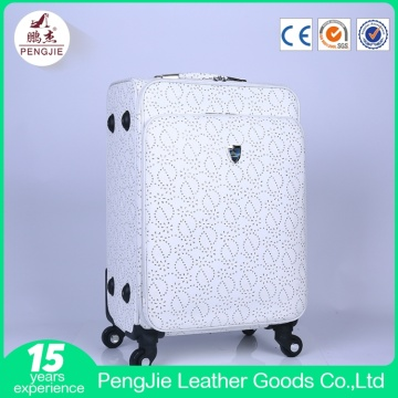 Wholesale High Quality 4 Wheels Smooth Soft Luggage