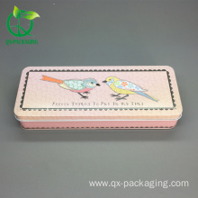 Popular Design for for Tin Gift Box,Metal Tin Gift Box,Custom Tin Gift Cans Manufacturers and Suppliers in China recycling metal tin box gift metal pill box supply to Russian Federation Factory