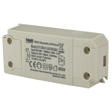 Controlador LED de 12W Triac regulable