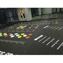 gym matting rubber flooring with EPDM granule