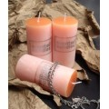 color pillar candle Scented Candle Company