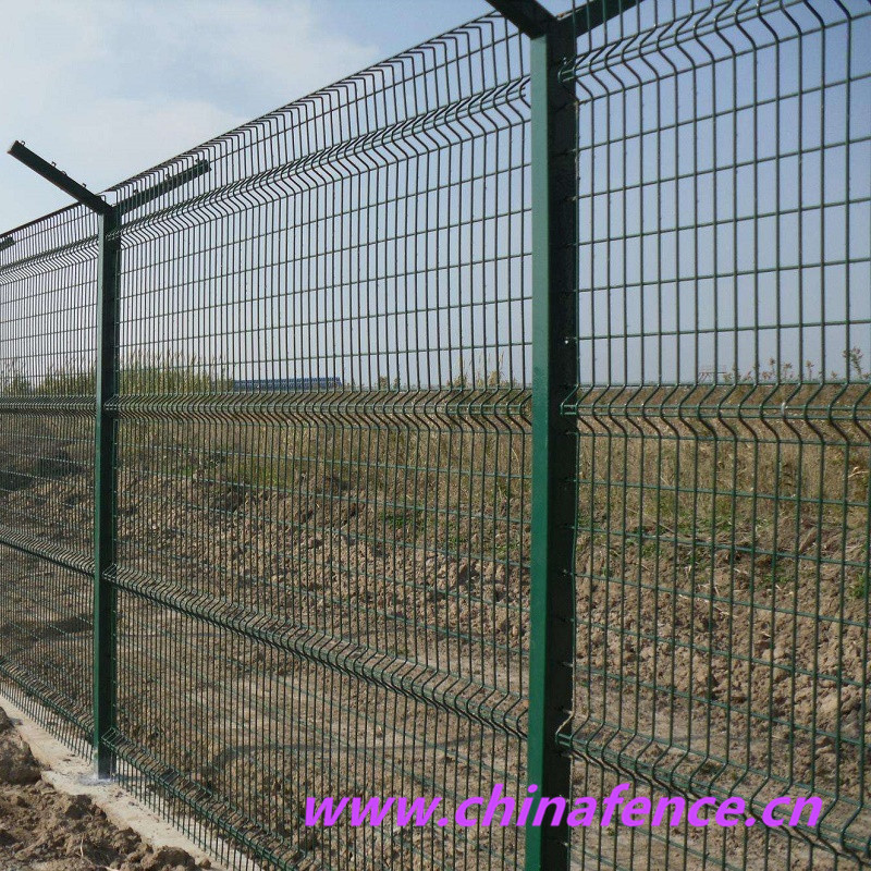 Welded Railway Fence