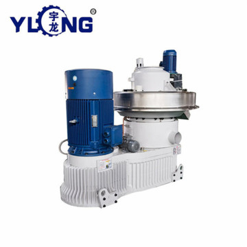 Yulong xgj560 1.5-2T wood pellet machine turkey