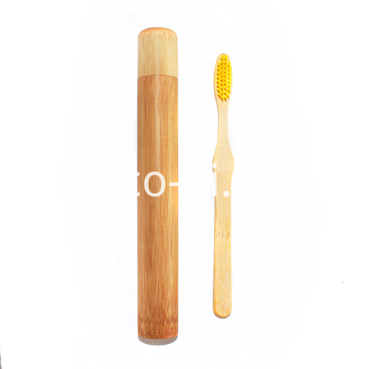 Bamboo Toothbrush With Case