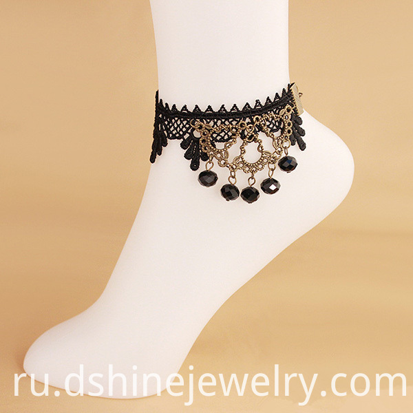Beads Tassel Cheap Ankle Bracelets