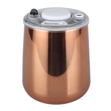 Stainless Steel Canister With Built-in Calendar