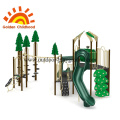 Natural Forest Commercial Outdoor Playground For Children