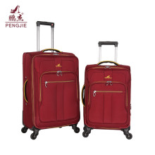 Cheap price new design fabric luggage