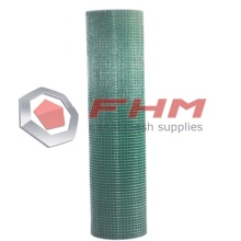 PVC Coated Welded Wire Cloth Green Color