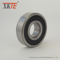 Rubber Sealed Bearing 6305 2RS C4 For Conveyor Roller