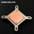 pure copper acrylic cover  cpu water block