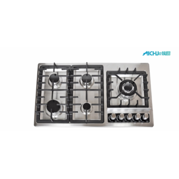 Lebih murah Natural 5 Burner Gas Stove