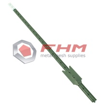 Reliable for T Post Fence Green Color T Post for Farm Fence export to Indonesia Wholesale