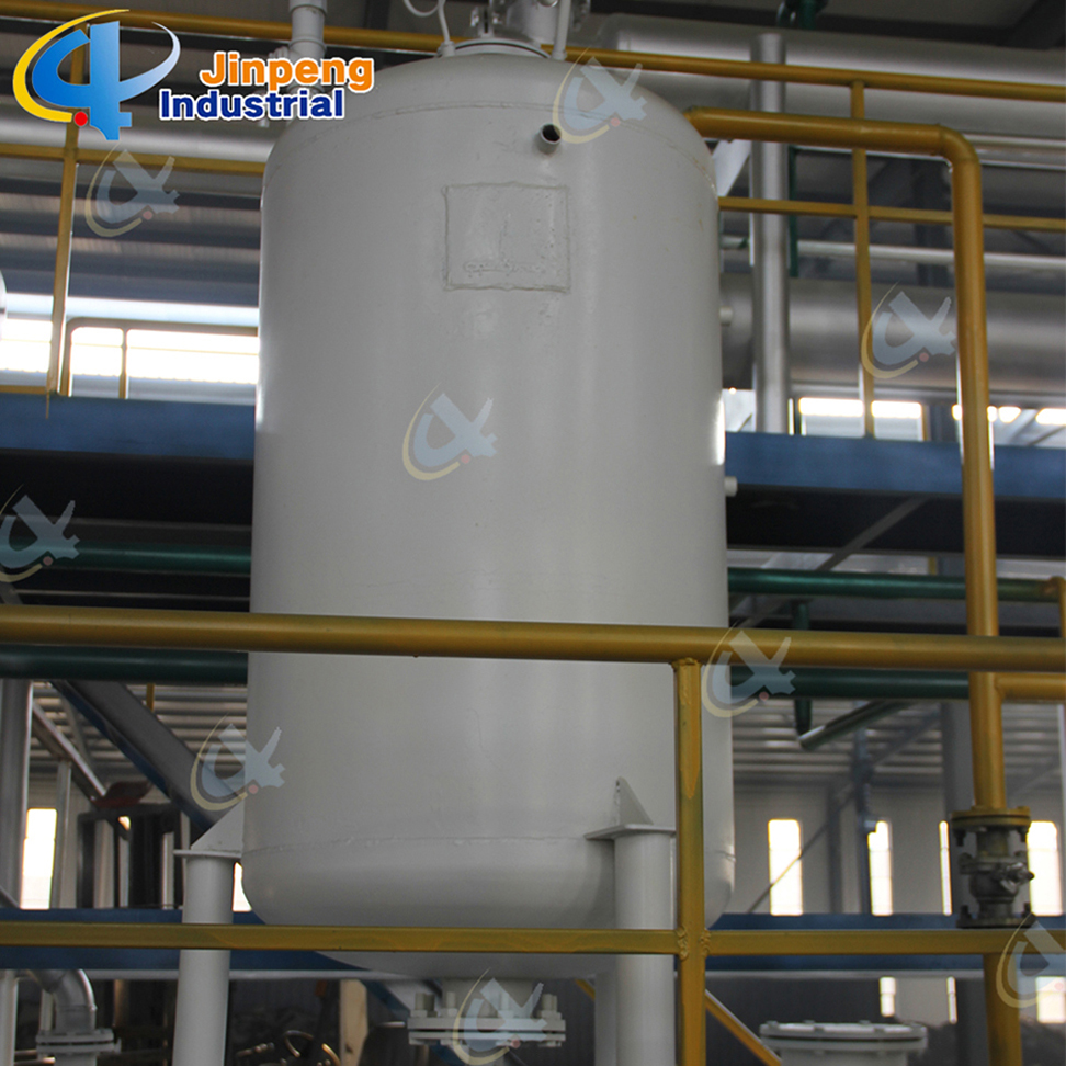 Plastic Pyrolysis Oil Refining System