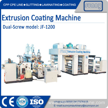 Customized for Plastic Extrusion Coating Machine,Release Film Coating Machine Manufacturer in China Single screw single T-Die laminating machine device export to Indonesia Manufacturer