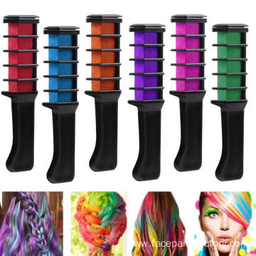 Temporary Bright Hair Chalk Set