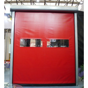 PVC High Speed Zipper Self-repair Door