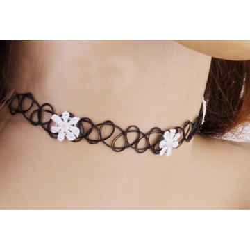 China for Factory of Tattoo Choker, Tattoo Choker Diy, Black Tattoo Choker from China Simple Black Choker Necklace Daisy Necklace Tattoos export to Palestine Factory