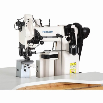 Single Needle Lockstitch Post-bed Machine for Finishing Armholes
