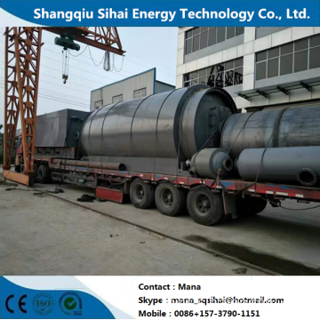 Day handling capacity 8-10tons pyrolytic plant