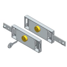 Best Quality for Slide Bolt Lock Set Single Side Roller Shutter Lock Kit export to Netherlands Exporter
