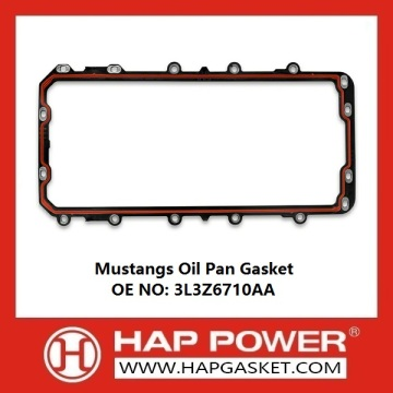 Supply for Oil Pan Seal Gasket Mustangs Oil Pan Gaskets 3L3Z6710AA supply to Saint Vincent and the Grenadines Importers