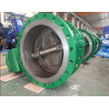 large size professional ductile iron body of butterfly valve for water