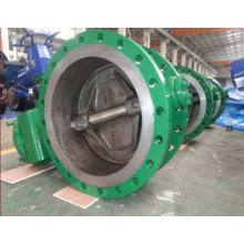 Low price for Manual Flanged Butterfly Valve Electric Double Flange Worm Gear Actuated Butterfly Valve export to India Wholesale