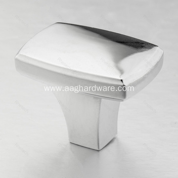 Zinc Alloy Square Drawer Knobs Pulls Handles