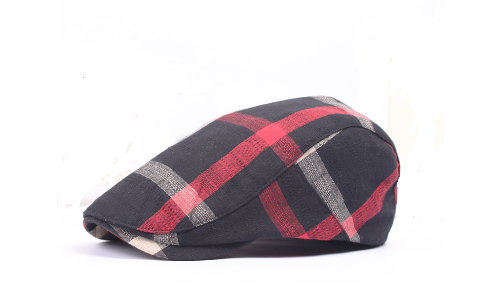 Woven Fabric Casquette Hat