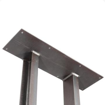 customized metal pipe antique desk table legs