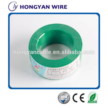 copper conductor pvc insulated electric wire