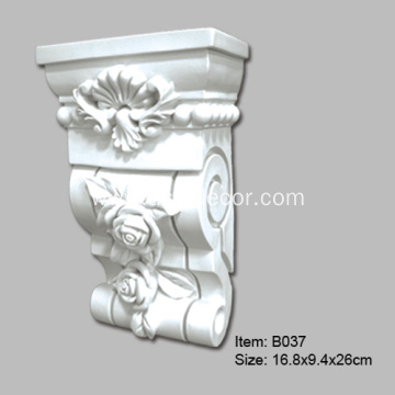 PU Decorative Rosset Corbels