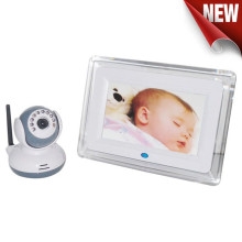 Best Quality for Cheap Video Baby Monitor, Digital Baby Monitor Reviews, Digital Camera Baby Monitor from China Manufacturer 7 Inch LCD Night Vision Wireless Baby Monitor export to Italy Wholesale