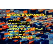Guangxi Guigang Sea Freight to Mexico Manzanillo