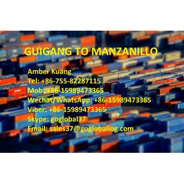 Fast Delivery for Central And South America Shipping Line Guangxi Guigang Sea Freight to Mexico Manzanillo supply to Germany Manufacturer