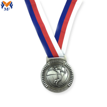 Metal sport medal custom design for sports match