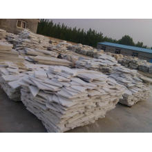 Garden or landscape white paving stones