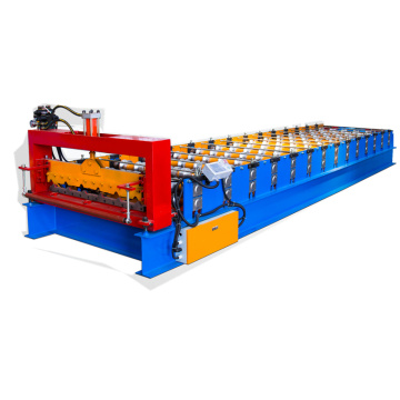 0.3-0.8 mm trapezoidal roll forming machine