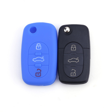 Folding car key cover for Audi