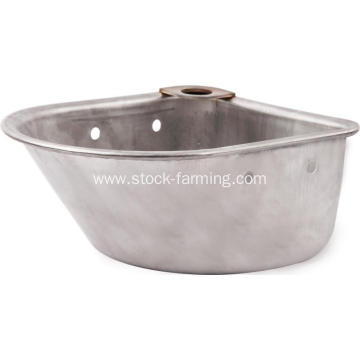 Stainless Steel Pig Feeding Trough Drinking Basin