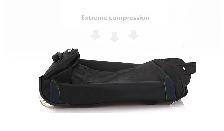 Extreme compression trolleybag