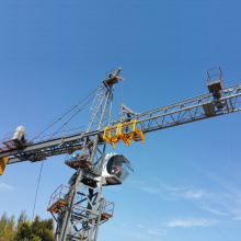 Self-Erecting Tower Construction Building Crane