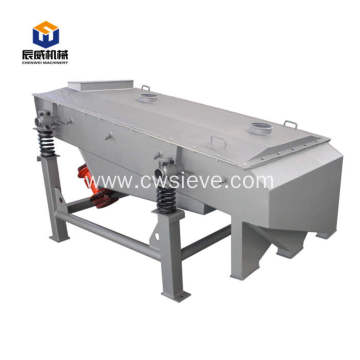 Dewatering linear sand rotary vibrating screen