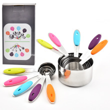 Best-Selling for Scale Cup Stainless Steel Measuring Cups and Spoons Set supply to India Importers