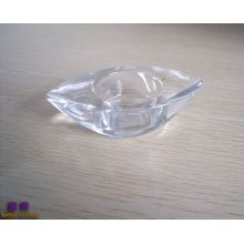 Glass Boat Shape Tealight Holder